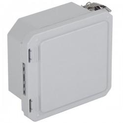 """EF060604-O STI EnviroArmour Fiberglass Enclosure - 6.77"""" H x 6.77"""" W x 4.06"""" D - White - Non-Returnable"""