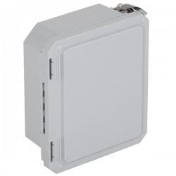 """EF080604-O STI EnviroArmour Fiberglass Enclosure - 8.77"""" H x 6.77"""" W x 4.06"""" D - White - Non-Returnable"""