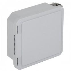 """EF080804-O STI EnviroArmour Fiberglass Enclosure - 8.74 H x 8.74 W x 4.06"""" D - White - Non-Returnable"""