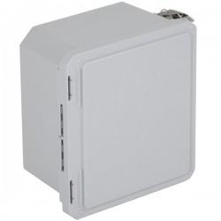 """EF100806-O STI EnviroArmour Fiberglass Enclosure - 10.73 H x 8.73 W x 6.06"""" D - White - Non-Returnable"""