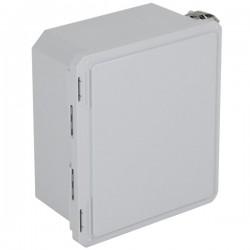 """EF121006-O STI EnviroArmour Fiberglass Enclosure - 12.69"""" H x 10.69"""" W x 6.06"""" D - White - Non-Returnable"""