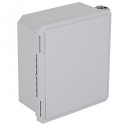 """EF141206-O STI EnviroArmour Fiberglass Enclosure - 14.72"""" H x 12.72"""" W x 6.06"""" D - White - Non-Returnable"""