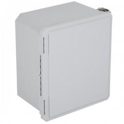 """EF141208-O STI EnviroArmour Fiberglass Enclosure - 14.66"""" H x 12.66"""" W x 8.06"""" D - White - Non-Returnable"""