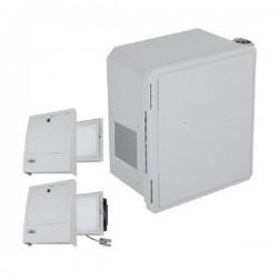 EF141208-O3 STI Fiberglass Enclosure with NEMA 3R Filter Fan w/ Filter Vent 14 x 12 x 8 Opaque