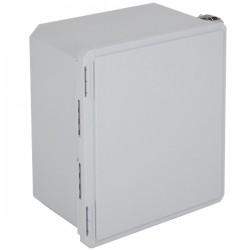 """EF161408-O STI EnviroArmour Fiberglass Enclosure - 14.66"""" H x 12.66"""" W x 8.06"""" D - White - Non-Returnable"""