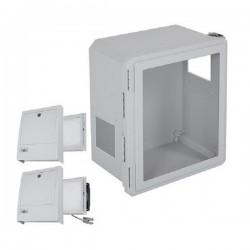 EF161408-W3 STI Fiberglass Enclosure with NEMA 3R Filter Fan w/ Filter Vent 16 x 14 x 8 with Window