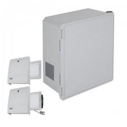 EF181610-O3 STI Fiberglass Enclosure with NEMA 3R Filter Fan w/ Filter Vent 18 x 16 x 10 Opaque