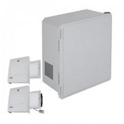 EF201610-O3 STI Fiberglass Enclosure with NEMA 3R Filter Fan w/ Filter Vent 20 x 16 x 10 Opaque