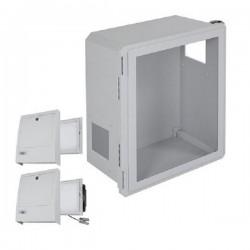 EF201610-W3 STI Fiberglass Enclosure with NEMA 3R Filter Fan w/ Filter Vent 20 x 16 x 10 with Window - Non-Returnable