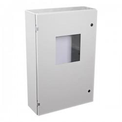 "EM362408W STI UL Listed 36"" H x 24"" W x 8"" D Metal Electrical Enclosure with Window"