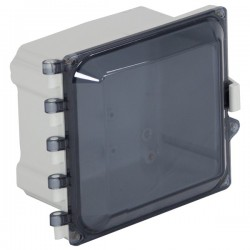 "EP060605-T STI EnviroArmour Polycarbonate Enclosure - 6"" H x 6"" W x 5"" D - Tinted - Non-Returnable"