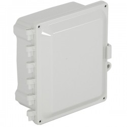 "EP080605-O STI EnviroArmour Polycarbonate Enclosure - 8"" H x 6"" W x 5"" D - White - Non-Returnable"