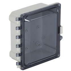 "EP080605-T STI EnviroArmour Polycarbonate Enclosure - 8"" H x 6"" W x 5"" D - Tinted - Non-Returnable"