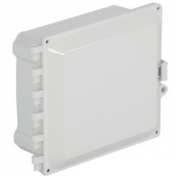 "EP080805-O STI EnviroArmour Polycarbonate Enclosure - 8"" H x 8"" W x 5"" D - White - Non-Returnable"