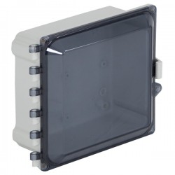 "EP080805-T STI  EnviroArmour Polycarbonate Enclosure - 8"" H x 8"" W x 5"" D - Tinted - Non-Returnable"