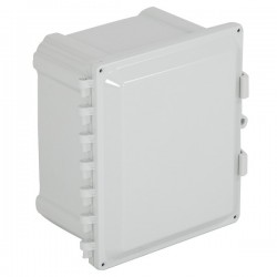 "EP100807-O STI EnviroArmour Polycarbonate Enclosure  - 10"" H x 8"" W x 7"" D - White - Non-Returnable"