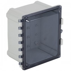 "EP100807-T STI EnviroArmour Polycarbonate Enclosure  - 10"" H x 8"" W x 7"" D - Tinted - Non-Returnable"