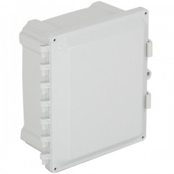 "EP101006-O STI EnviroArmour Polycarbonate Enclosure - 10"" H x 10"" W x 6"" D - White  - Non-Returnable"
