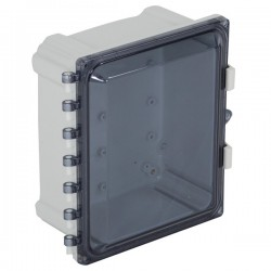 "EP101006-T STI  EnviroArmour Polycarbonate Enclosure - 10"" H x 10"" W x 6"" D - Tinted - Non-Returnable"