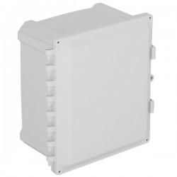 "EP121007-O STI EnviroArmour Polycarbonate Enclosure - 12"" H x 10"" W x 7"" D - White - Non-Returnable"