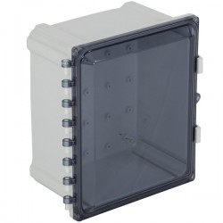 "EP121007-T STI EnviroArmour Polycarbonate Enclosure - 12"" H x 10"" W x 7"" D - Tinted - Non-Returnable"