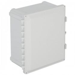 "EP141207-O STI EnviroArmour Polycarbonate Enclosure - 14"" H x 12"" W x 7"" D - White - Non-Returnable"