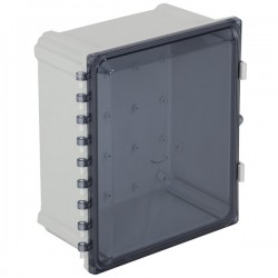 "EP141207-T STI EnviroArmour Polycarbonate Enclosure - 14"" H x 12"" W x 7"" D - Tinted - Non-Returnable"