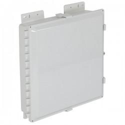 "EP181604-O STI EnviroArmour Polycarbonate Enclosure - 18"" H x 16"" W x 4"" D - White - Non-Returnable"