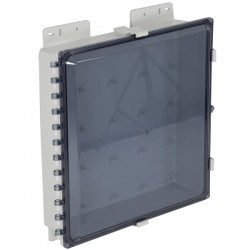 "EP181604-T STI EnviroArmour Polycarbonate Enclosure - 18"" H x 16"" W x 4"" D - Tinted - Non-Returnable"