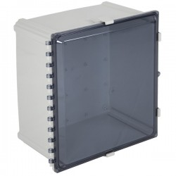 "EP181611-T STI EnviroArmour Polycarbonate Enclosure - 18"" H x 16"" W x 11"" D - Tinted - Non-Returnable"