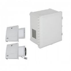 EP201608-O3 STI Polycarbonate Enclosure with NEMA 3R Filte Fan w/ Filter Vent 20 x 16 x 8, Opaque