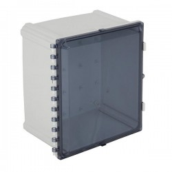 "EP201608-T STI EnviroArmour Polycarbonate Enclosure - 20"" H x 16"" W x 8"" D - Tinted - Non-Returnable"