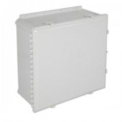 "EP242410-O STI EnviroArmour Polycarbonate Enclosure - 24"" H x 24"" W x 10"" D - White - Non-Returnable"