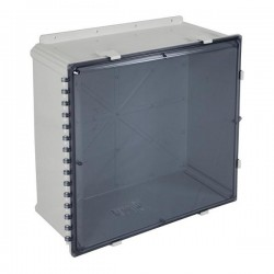 "EP242410-T STI EnviroArmour Polycarbonate Enclosure - 24"" H x 24"" W x 10"" D - Tinted - Non-Returnable"