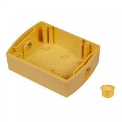 "KIT-GLR-BB-2 STI Yellow GLR Backbox Kit with 1/2"" NPT Plug"