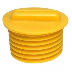 "KIT-GLR-NPT-2 STI Yellow GLR 1/2"" NPT Plug"
