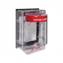 STI-1155CR STI Stopper II With Horn & Spacer Indoor/Outdoor - Custom Label - Non-Returnable