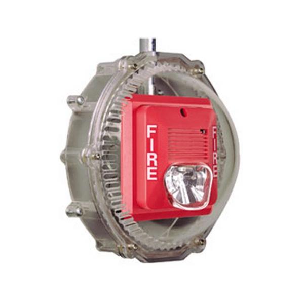 STI-1217 STI Stopper Dome for Horn/Speaker/Strobe with Open Back Box - Clear