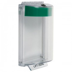 STI-13010NG STI Universal Stopper without Horn Flush - No Label Included - Green