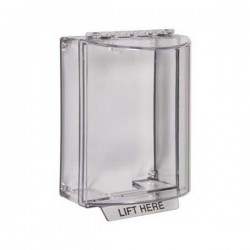 STI-13200NC STI Universal Stopper without Horn Housing Surface Mount - Clear