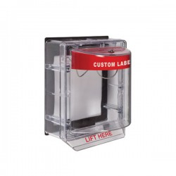 STI-3150CR STI Weather Stopper Without Horn with Spacer - Custom Label - Non-Returnable