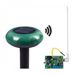 STI-34119 STI Wireless Driveway Monitor Solar with Single Slave Receiver