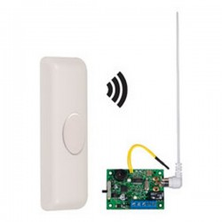 STI-34609 STI Wireless Doorbell Button Alert with Single Channel Slave Receiver