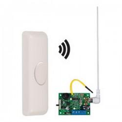 STI-34609 STI Wireless Doorbell Button Alert with Single Channel Slave Receiver