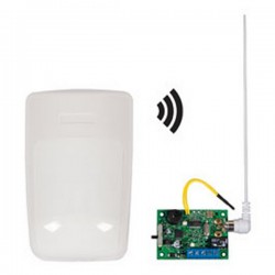 STI-34709 STI Wireless Indoor Motion Detector Alert with Single Channel Slave Receiver