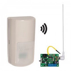 STI-34759 STI Wireless Outdoor Motion Detector with Single Slave Receiver