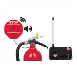 [DISCONTINUED] STI-6200WIR4 STI Wireless Fire Extinguisher Theft Stopper with Receiver
