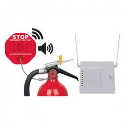 STI-6200WIR8 STI Wireless Fire Extinguisher Theft Stopper with 8 Channel Receiver