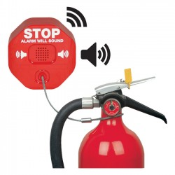 STI-6200WIR9 STI Wireless Fire Extinguisher Theft Stopper with Single Slave Receiver