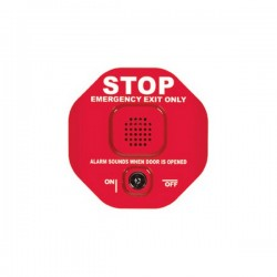 [DISCONTINUED] STI-6400-2017 STI Exit Stopper Multifunction Door Alarm - Red
